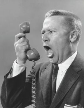 Complainer-Yelling-Phone-into-Man-Person
