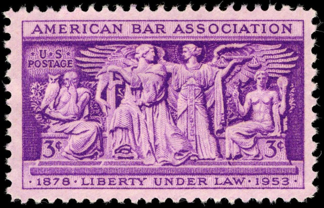 american_bar_association_3c_1953_issue_u-s-_stamp